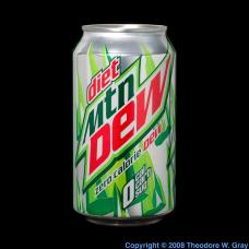 Bromine Brominated vegetable oil in Mountain Dew