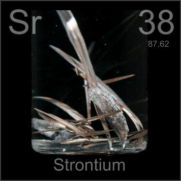 Pictures, stories, and facts about the element Strontium ...
