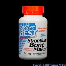 Strontium Bone-building supplements