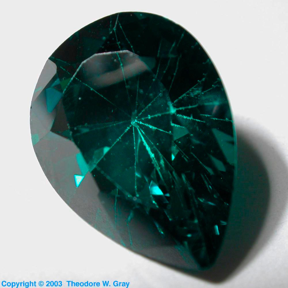 Fake emerald a sample of the element zirconium in the periodic table zirconium fake emerald urtaz Image collections