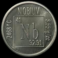 Niobium Element coin