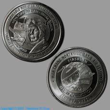 Niobium Wah Chang commemorative coin