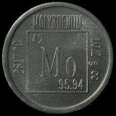 Molybdenum Element coin