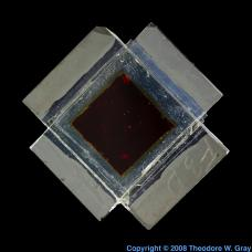 Ruthenium Experimental solar cell