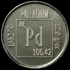 Palladium Element coin