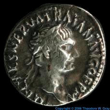 Silver Coin from 98-99BC
