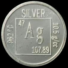 Silver Element coin