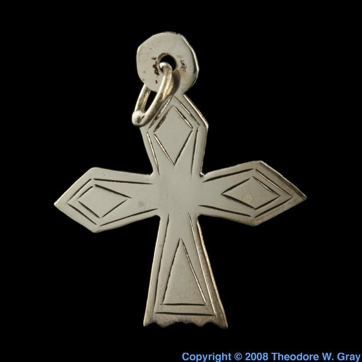 Silver Replica silver cross