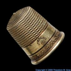 Silver Antique sterling thimble