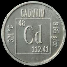 Cadmium Element coin