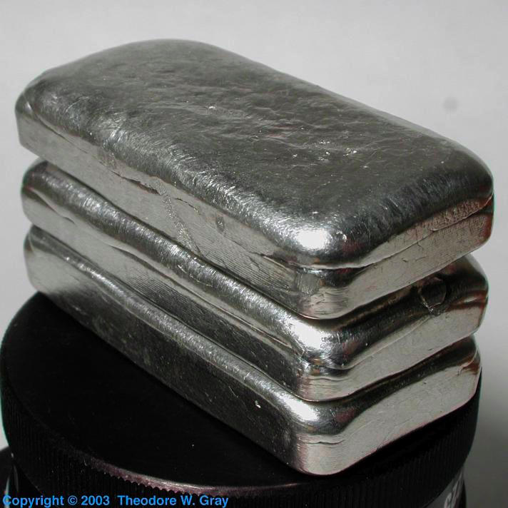Indium Three 70g ingots