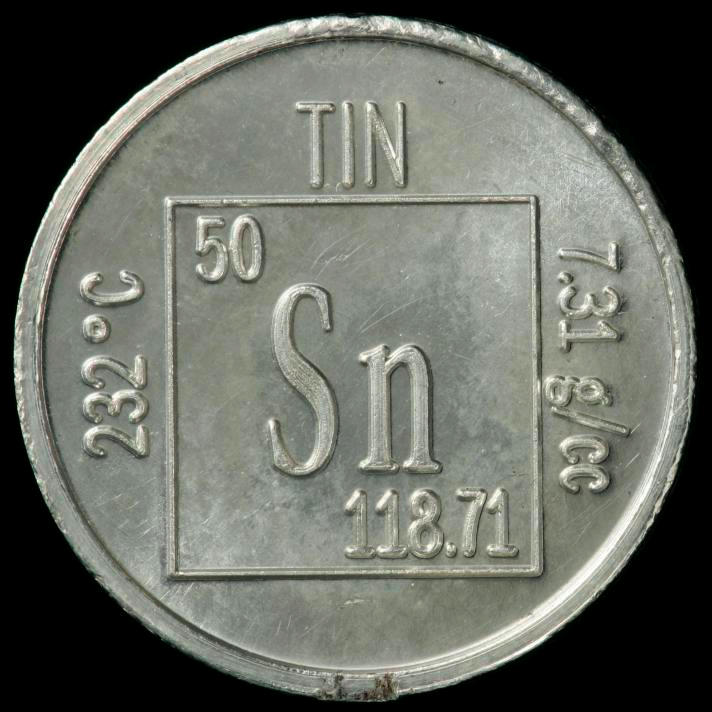 Tin Element coin