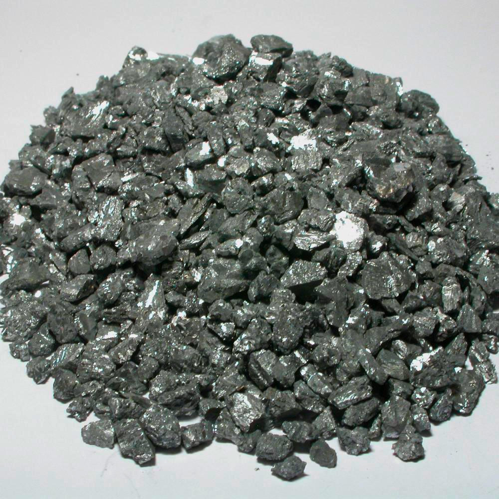 Bulk Commercial Grade A Sample Of The Element Antimony In The