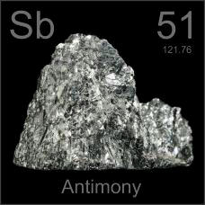 Antimony Broken crystal