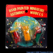 Antimony Hand Painted Miniature Antimony Models