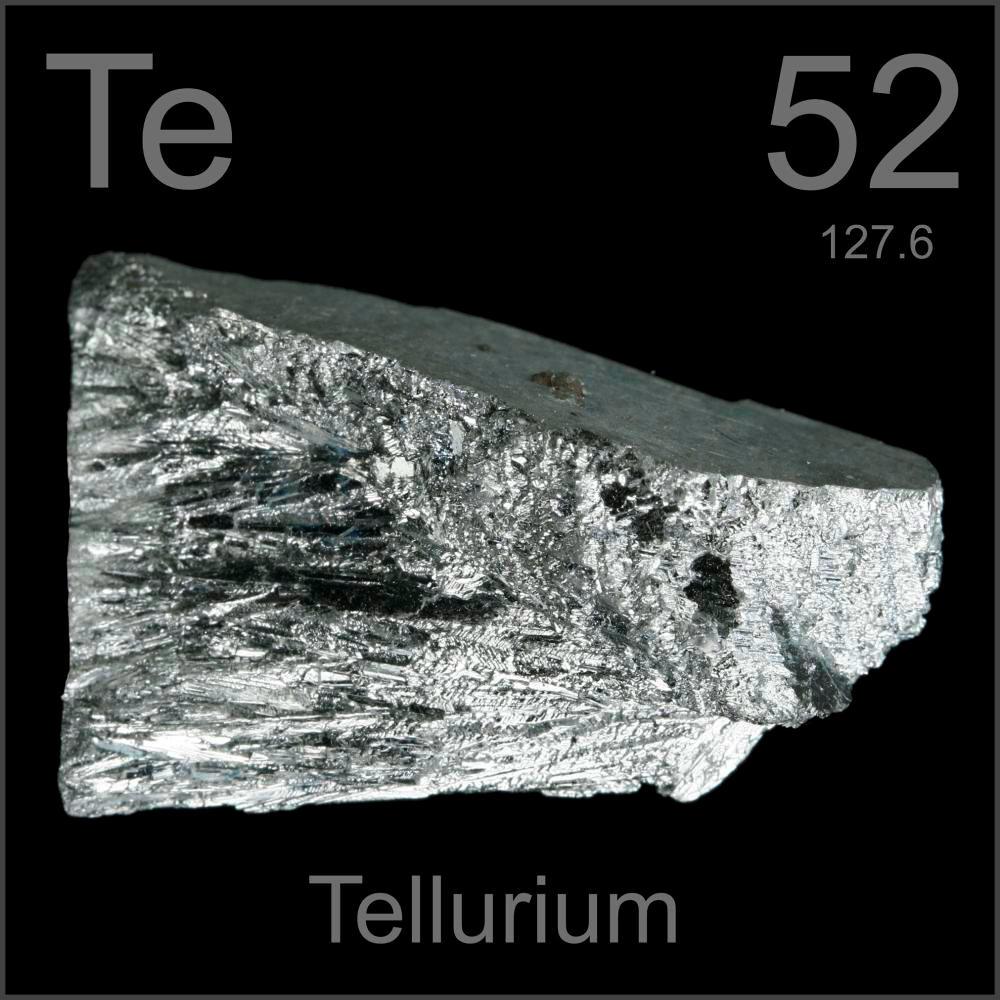 Bismuto y telurio ciencia y educacin taringa nombre smbolo nmero telurio te 52 serie qumica metaloide grupo perodo bloque 16 5 p densidad 6240 kgm3 dureza mohs 225 urtaz Gallery