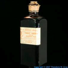 Iodine Tincture of iodine, large bottle