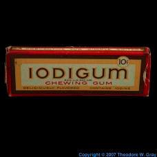 Iodine Iodigum, iodine chewing gum