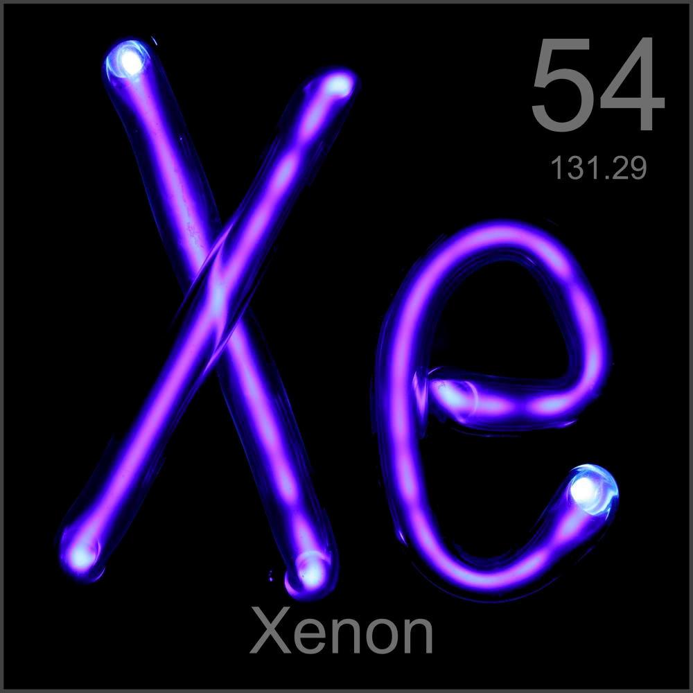 Xenon Periodic Table Museum-grade sample, a...