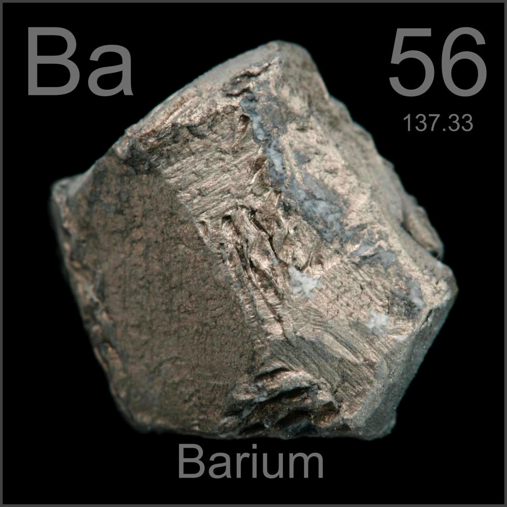 Bario on Lithium Periodic Table