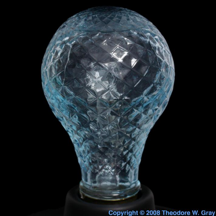 Praseodymium Inefficient daylight bulb