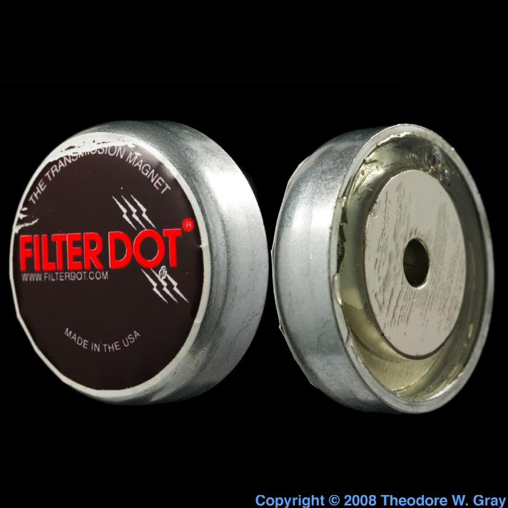 Neodymium Oil filter magnet