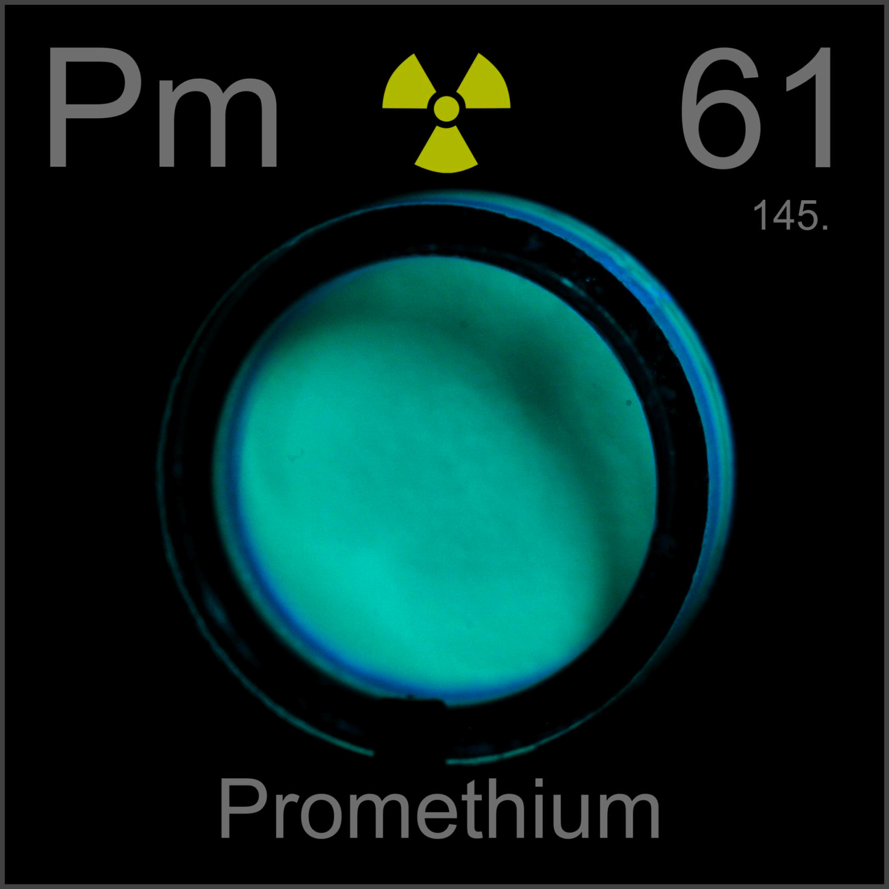 the element promethium 'finally in 1945, scientists isolated promethium from uranium fission products purified by ion-exchange chromatography' 'in fact, the elements with atomic numbers 43, 61, and 85 (technetium, promethium, and astatine, respectively) were unknown on earth until some of their radioactive isotopes had been produced synthetically.
