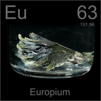 Pictures Stories And Facts About The Element Europium In The