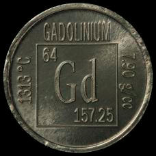 Gadolinium Element coin