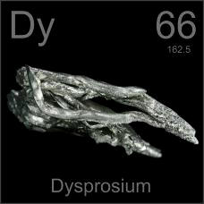 Dysprosium Dendritic crystals