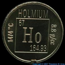 Holmium Element coin
