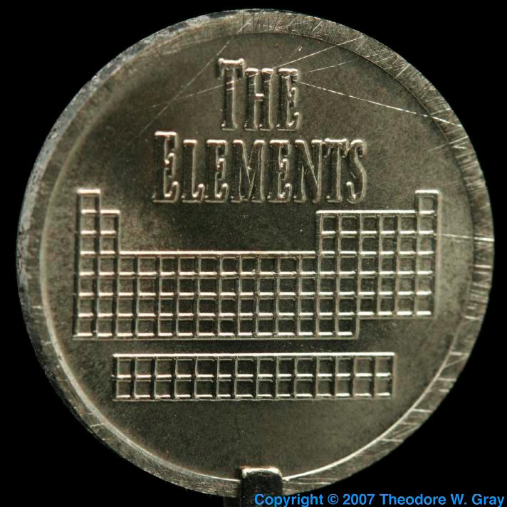 Erbium Element coin