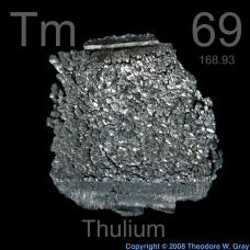 Thulium Lump with interesting surface99.95%
