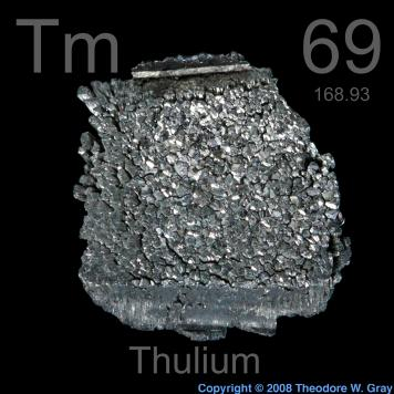 Pictures, stories, and facts about the element Thulium in
