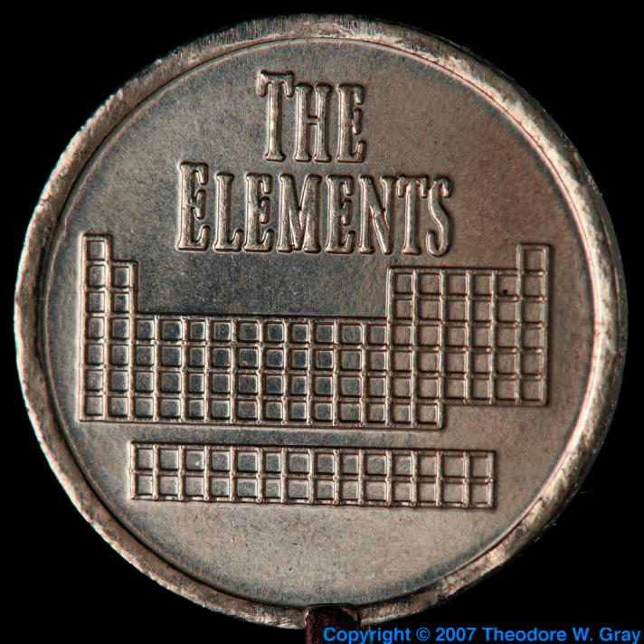 Thulium Element coin