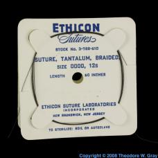 Tantalum Suture thread