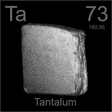 Pictures, stories, and facts about the element Tantalum in the