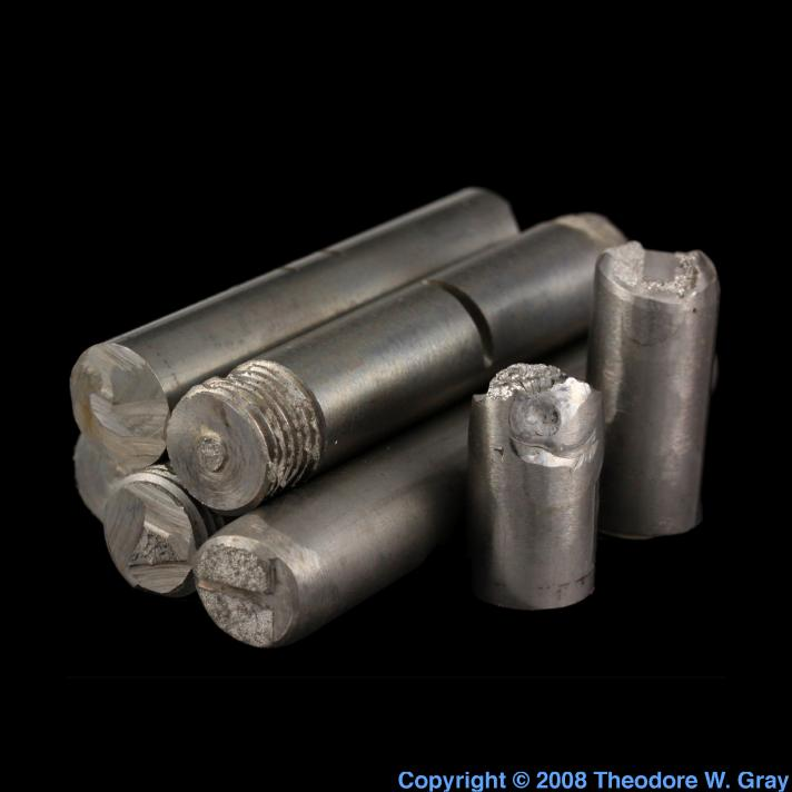 Tungsten 1/2 rods
