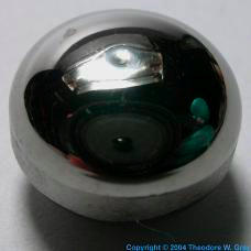 Tungsten Single-crystal button, melted