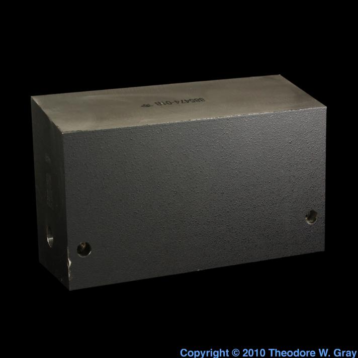 Tungsten Tremendous block of tungsten