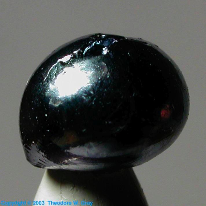 Real Osmium A Sample Of The Element Osmium In The