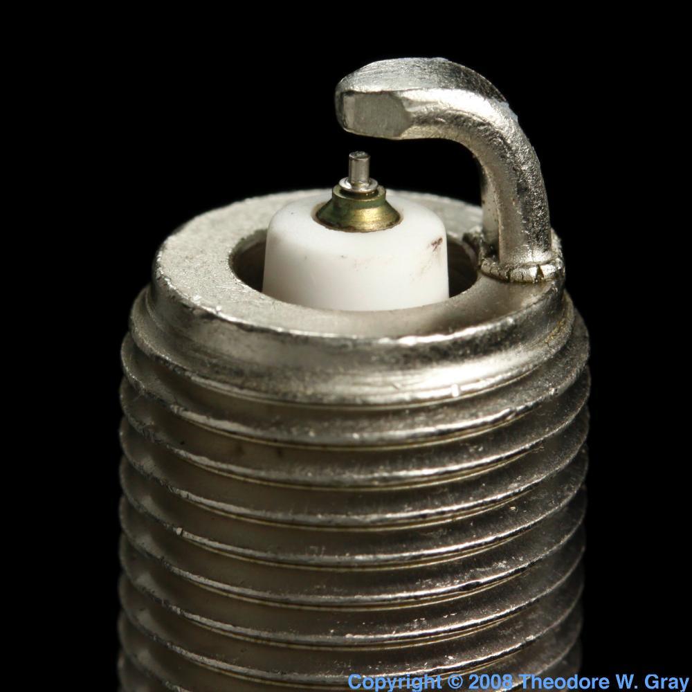 Iridium Spark Plugs >> Spark Plug, a sample of the element Iridium in the Periodic Table