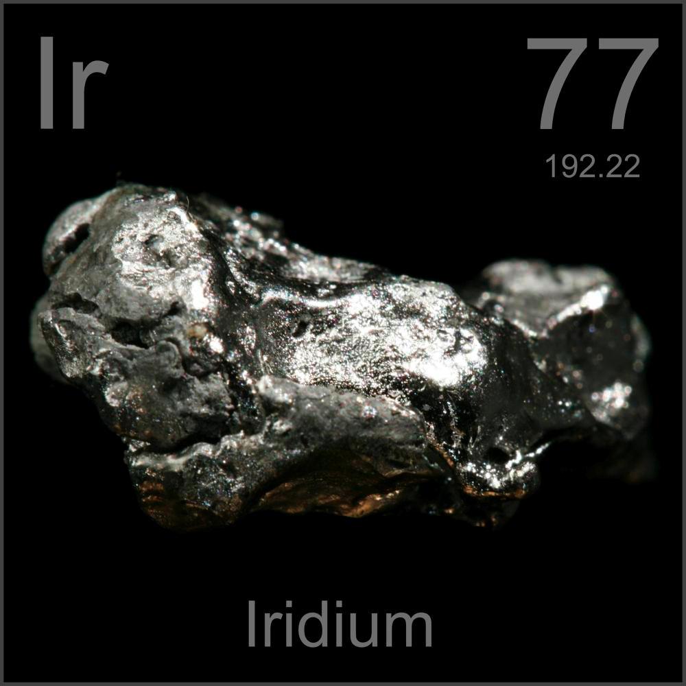 El Iridio, ¿Que es y para que sirve?