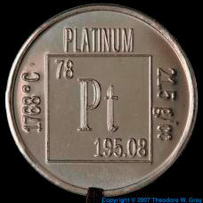 Platinum Element coin