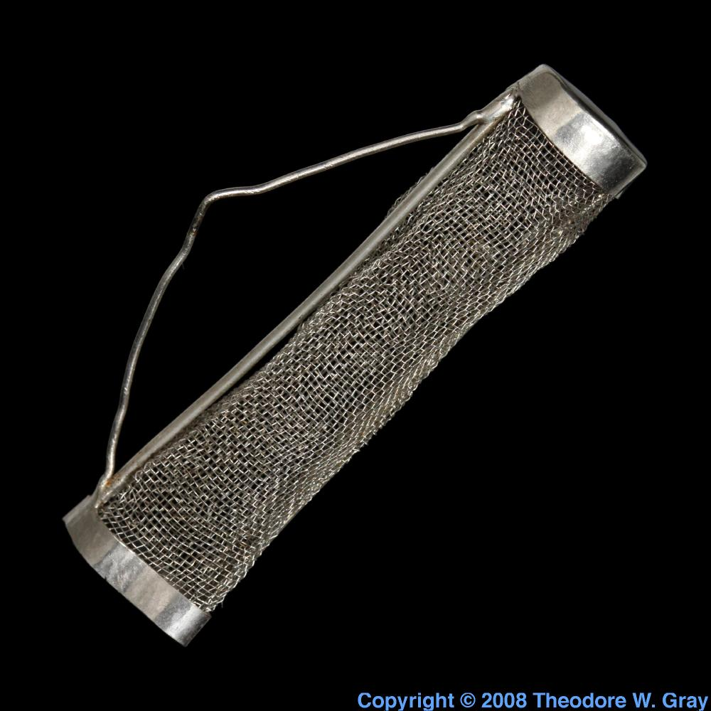 Platinum Electrode A Sample Of The Element Platinum In