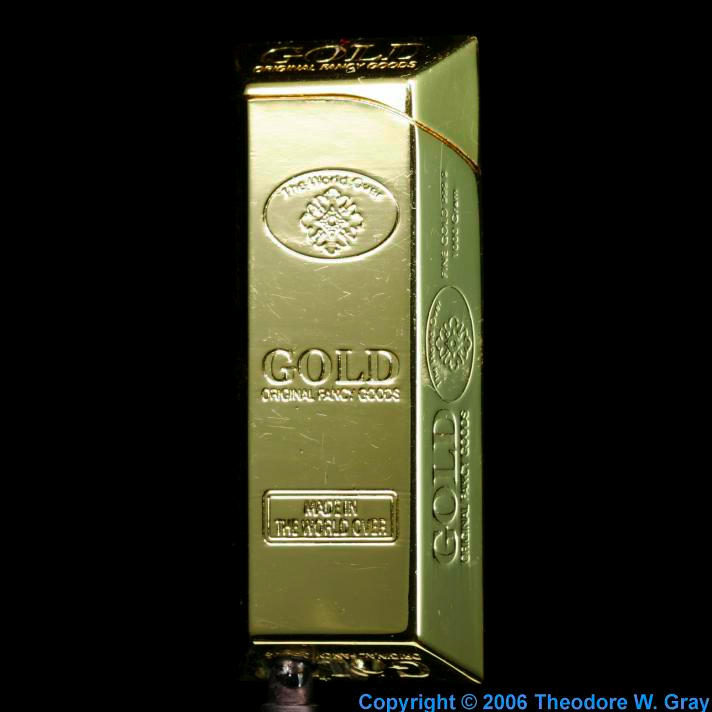 Gold Lighter