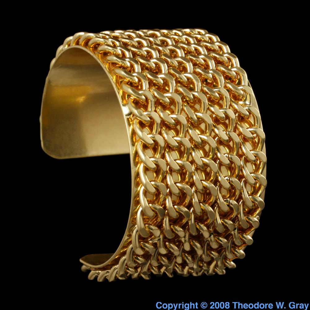 Pictures, stories, and facts about the element Gold in the ...
