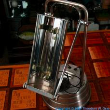 Mercury Tanning lamp