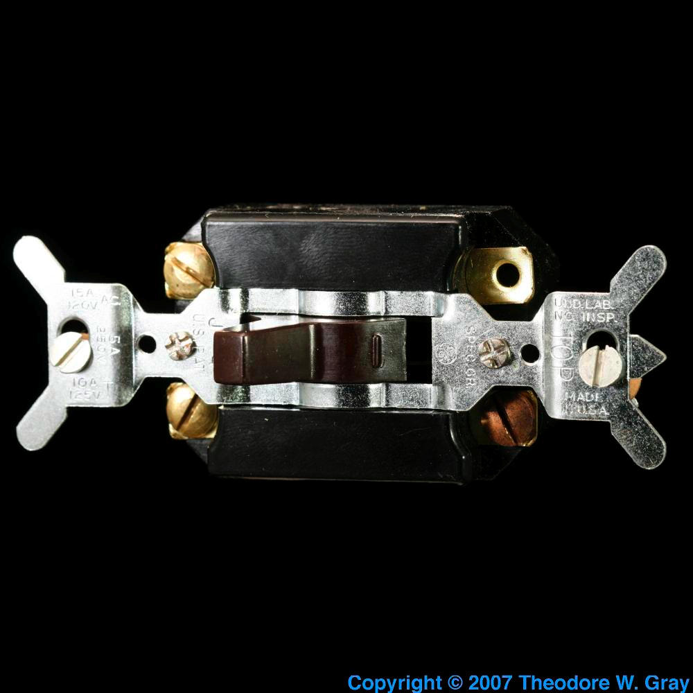 Silent Light Switch A Sample Of The Element Mercury In