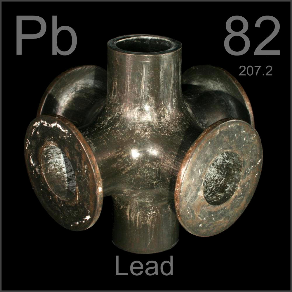 6 Way Pipe Union A Sample Of The Element Lead In The